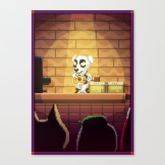 Pixel Art series 1 : Little Song Canvas Print
