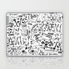 Hardware Black Laptop & iPad Skin