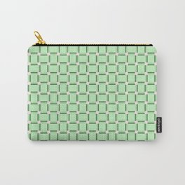 green,color pattern of many small four corners Carry-All Pouch
