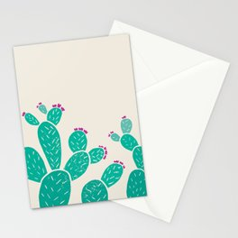Blooming Prickly Pears Stationery Cards