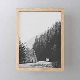 ROAD TRIP / Canada Framed Mini Art Print