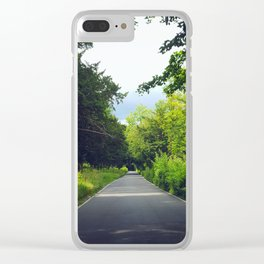 A Break from the City Clear iPhone Case