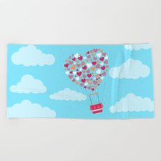 Hot Balloon Beach Towel