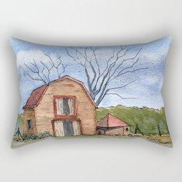 Old Barn Rectangular Pillow