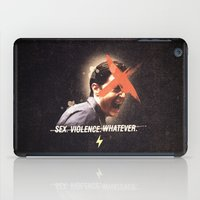 dale cooper iPad Cases featuring Black Mirror | Dale Cooper Collage by Julien Ulvoas
