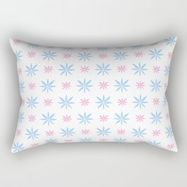 stars 93- blue and pink Rectangular Pillow