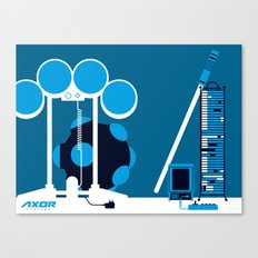 AXOR Systems - Room #2 Canvas Print