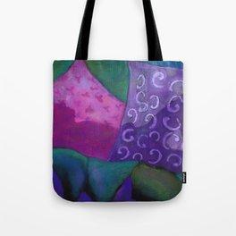 The Hideaway - Purple and Magenta Heaven Tote Bag