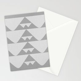 """Pebbled """"Block Print"""" Stationery Cards"""