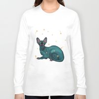 sphynx Long Sleeve T-shirts featuring Sphynx by Illness