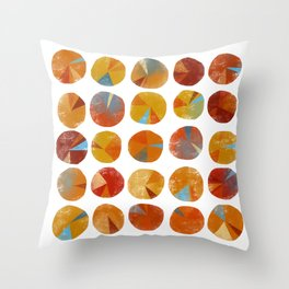 Pies Are Squared Throw Pillow
