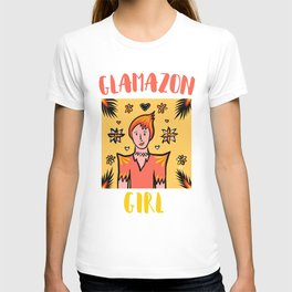 Glamazon Girl: Fuego T-shirt