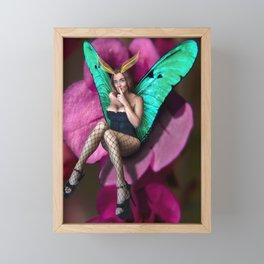 Secret Faery Framed Mini Art Print