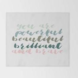 You Are Throw Blanket