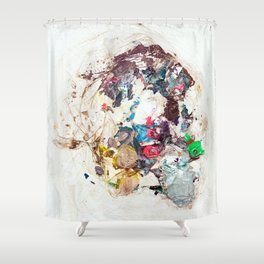 Abstract Geometric 10 Shower Curtain