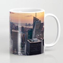 Beautiful Sunset Manhattan USA Coffee Mug