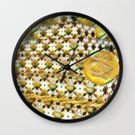New Color Pyramide 3 Wall Clock