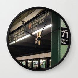 71 Forest Hills Wall Clock