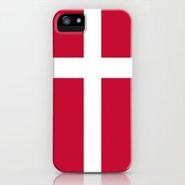Flag of Denmark iPhone Case