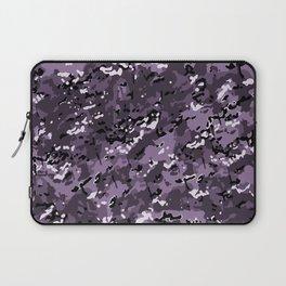 Lavender Purple Popular Multi Camo Pattern Laptop Sleeve