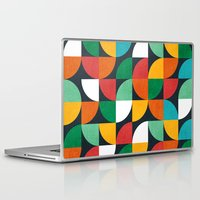 pie Laptop & iPad Skins featuring Pie in the sky by Picomodi