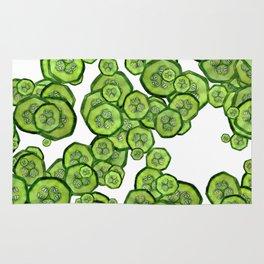 zucchini invasion Rug