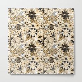 Classic Floral Metal Print