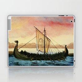 Drakkar, watercolor Laptop & iPad Skin