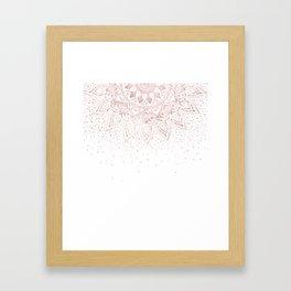 Henna Mehndi Framed Art Prints Society6