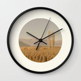 Landscape Circular Wall Clock