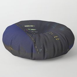 Night scape London Style Floor Pillow