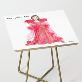 Scarlet O'hara: Haters Gonna Hate by Joshua B. Wichterich Side Table