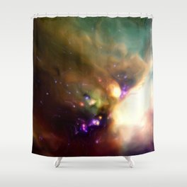 Young Stars in Formation Shower Curtain