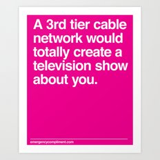 Your Television Show Art Print