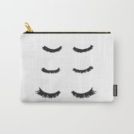 Eyelashes Illustration Art Carry-All Pouch