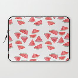 watermelon slices watercolor Laptop Sleeve