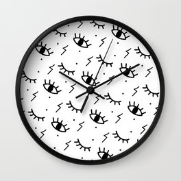 All seeing eyes Wall Clock