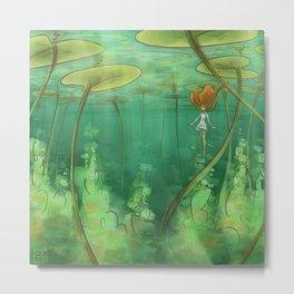 Lily Pond Metal Print