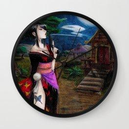 Nouhime Wall Clock