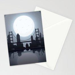 Full Moon Manhattan Stationery Cards