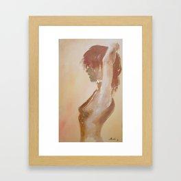act Framed Art Print