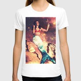 Vintage Mermaid Sparkle T-shirt