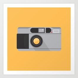 Camera Series: Contax T2 Art Print