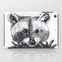 racoon iPad Cases featuring Racoon by Faustine BLESSON