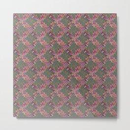 A Pattern of Xs Metal Print