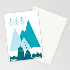 Heart the Narwhal Stationery Cards