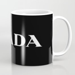 Black P Coffee Mug