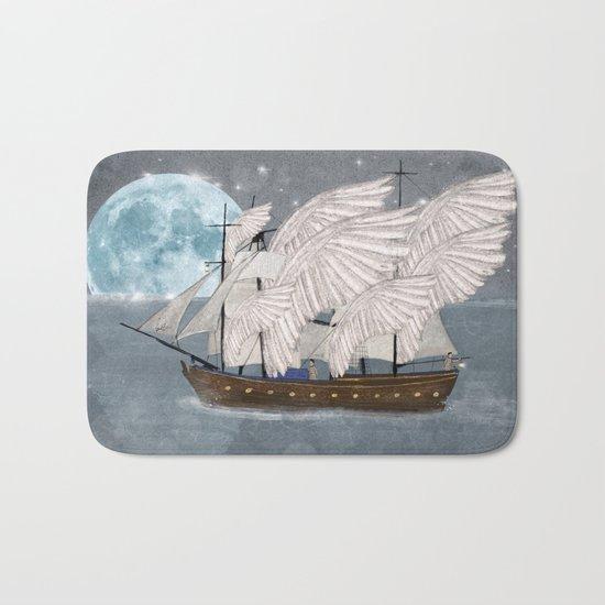 the wing ship Bath Mat