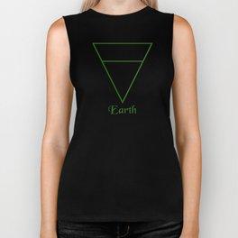 Earth Element Symbol Biker Tank