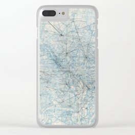 Triangulation Diagram, Washington D.C. (September 1962) Clear iPhone Case